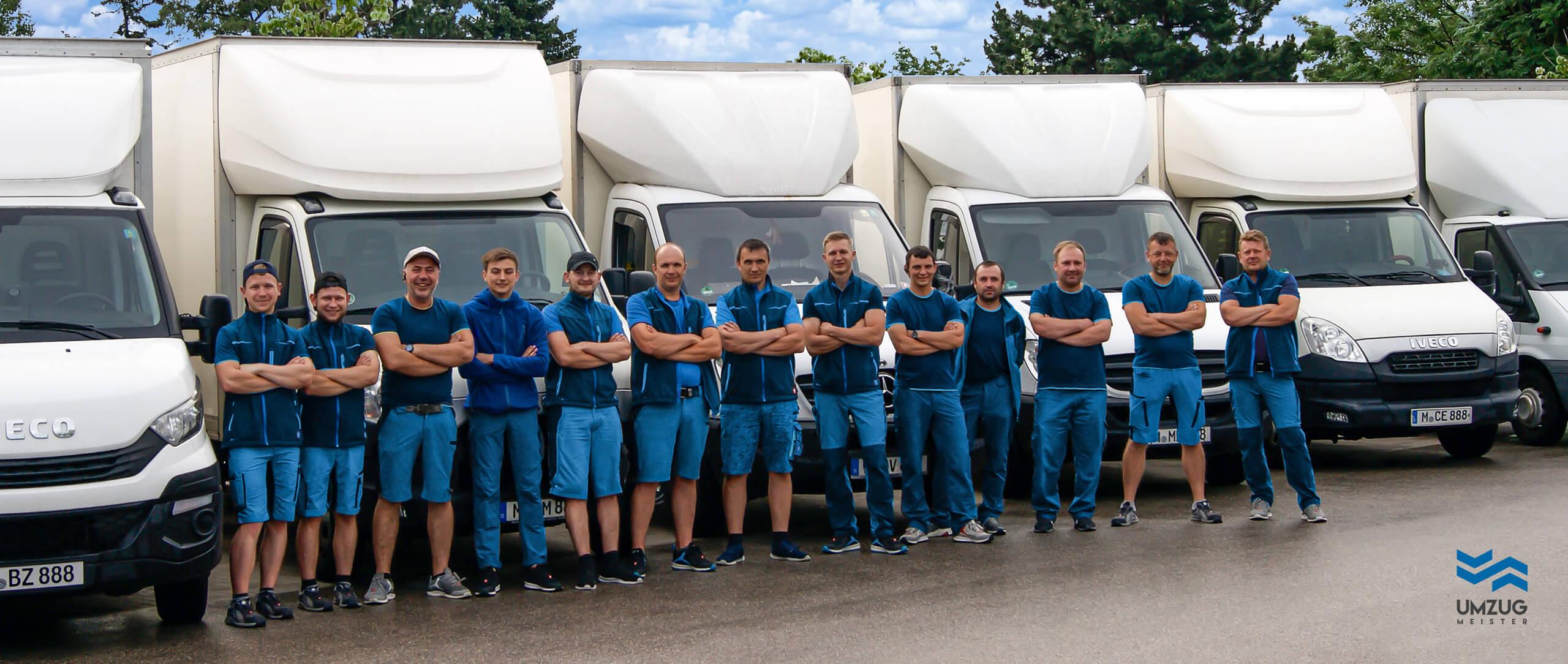 Umzug München - Teamfoto
